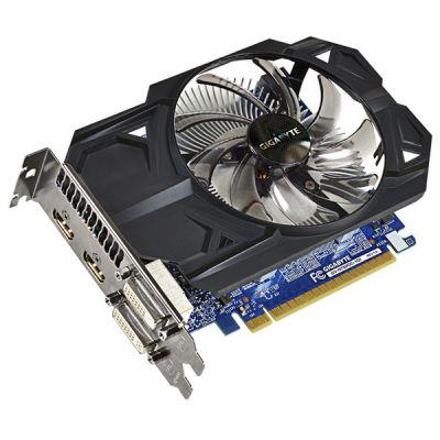 Видеокарта Gigabyte PCI-E GV-N750OC-1GI nVidia GeForce GTX 750 1024Mb 128bit GDDR5 1059/5000 DVIx1/HDMIx2/HDCP Ret GV-N750OC-1GI