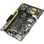 ����������� ����� ASUS SocketAM1 PCI-E Dsub+DVI+HDMI GbLAN SATA MicroATX 2DDR-III (RTL) AM1M-A