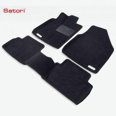 Коврики в салон Satori текст.Ford Focus II 2009-> Satori с бортиком черные SI 02-00163