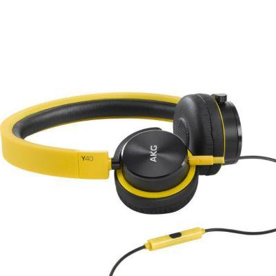 Наушники AKG накладные Y40 желтые