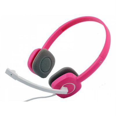 ��������� Logitech Stereo Headset H150 Pink 981-000369