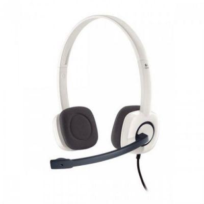 Гарнитура Logitech Stereo Headset H150 White 981-000350