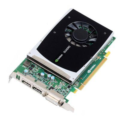 ���������� PNY 1Gb PCI-E nVidia Quadro 2000 GDDR5, 192 bit, DVI, 2*DP, OEM VCQ2000BLK-1