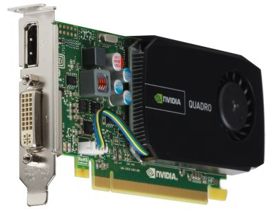 ���������� PNY 512Mb PCI-E nVidia Quadro 410 GDDR3, 64 bit, 2*DVI, DP, Low Profile, Retail VCQ410-PB