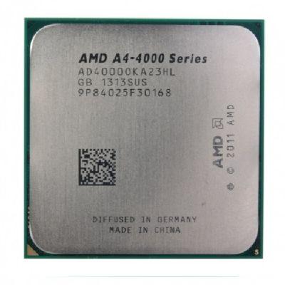 Процессор AMD CPU Socket FM2 A4-4000 X2 Richland (3.0GHz/1MB) OEM AD4000OKA23HL