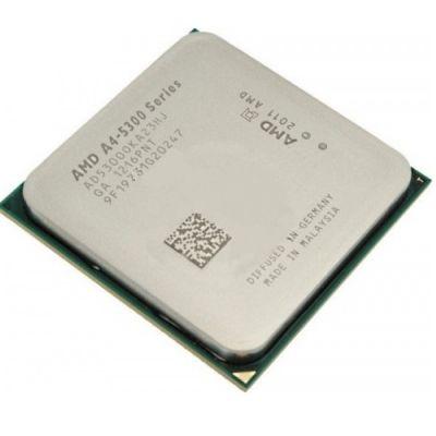 Процессор AMD A4 X2 5300 FM2 (3.4/1Mb/Radeon HD 7480) OEM AD5300OKA23HJ