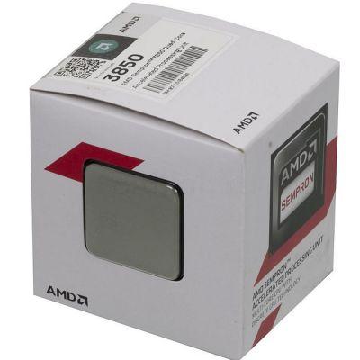 Процессор AMD SEMPRON 3850 BOX 1.3 GHz / 4core / SVGA RADEON R3 / 2 Mb / 25W Socket AM1 SD3850JAHMBOX
