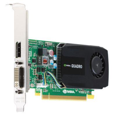 Видеокарта PNY NVIDIA Quadro, Quadro K600, PCI-E, 1024МБ, DDR3, DVI, DP, 128-бит, Retail VCQK600-PB