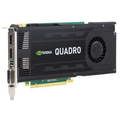 PNY 3Gb PCI-E nVidia Quadro K4000 GDDR5, 192 bit, DVI, 2*DP, Retail VCQK4000-PB