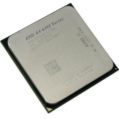 Процессор AMD A4-6320 3.8 GHz / 2core / SVGA Radeon HD 8370D / 1 Mb / 65W / 5 GT / s Socket FM2 AD6320OKA23HL