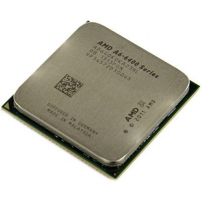 ��������� AMD A6-6400K 3.9 GHz / 2core / SVGA RADEON HD 8470D / 1 Mb / 65W / 5 GT / s Socket FM2 OEM AD640KOKA23HL