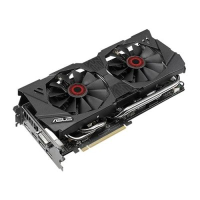 Видеокарта ASUS 4Gb PCI-E GTX980, GDDR5, 256 bit, DVI, HDMI, DP*3, Retail STRIX-GTX980-DC2-4GD5