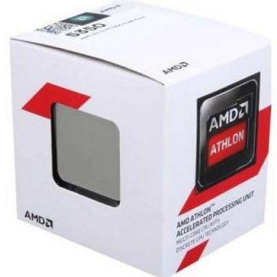 Процессор AMD Athlon 5350 BOX 2.05 GHz / 4core / SVGA RADEON R3 / 2 Mb / 25W Socket AM1 AD5350JAHMBOX