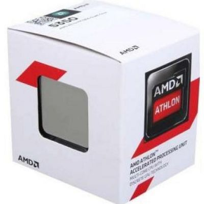 ��������� AMD Athlon 5350 BOX 2.05 GHz / 4core / SVGA RADEON R3 / 2 Mb / 25W Socket AM1 AD5350JAHMBOX