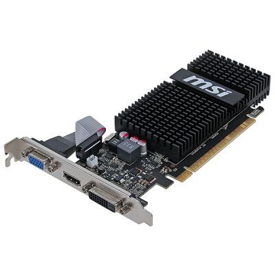 MSI 1Gb PCI-E CUDA GFN720, GDDR3, 64 bit, HDCP, VGA, DVI, HDMI, Retail N720-1GD3HLP