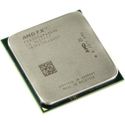 Процессор AMD FX-8300 3.3 GHz / 8core / 8+8Mb / 95W / 5200 MHz Socket AM3+ FD8300WMW8KHK