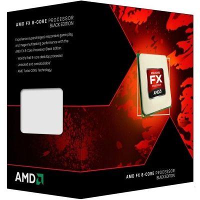 ��������� AMD FX-8300 Black Edition BOX 3.3 GHz / 8core / 8+8Mb / 95W / 5200 MHz Socket AM3+ (FD8300W)