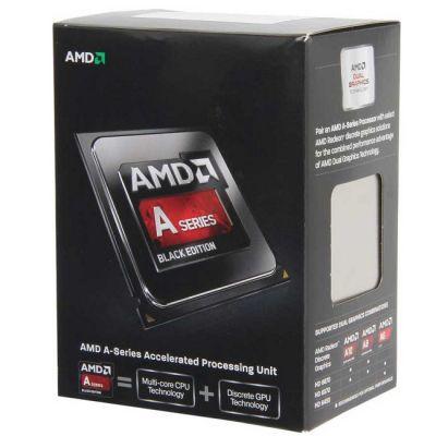 Процессор AMD A10-6800K BOX Black Edition 4.1 GHz / 4core / SVGA RADEON HD 8670D / 4Mb / 100W / 5 GT / s Socket FM2 AD680KWOHLBOX