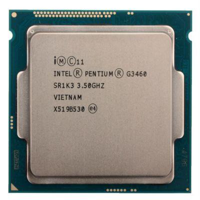Процессор Intel Pentium G3460 3.5 GHz / 2core / SVGA HD Graphics / 0.5+3Mb / 53W / 5 GT / s LGA1150 OEM CM8064601482508SR1K3