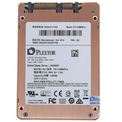 """������������� ���������� Plextor SSD 2.5"""" 128 Gb SATA III (PX-128M6P)"""