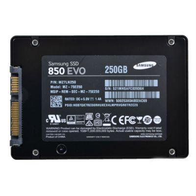 "SSD-диск Samsung SSD 2.5"" 250 Gb SATA III 850 EVO (MZ-75E250BW)"