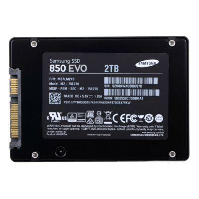 "������������� ���������� Samsung SSD 2.5"" 2Tb SATA III 850 EVO (MZ-75E2T0BW)"