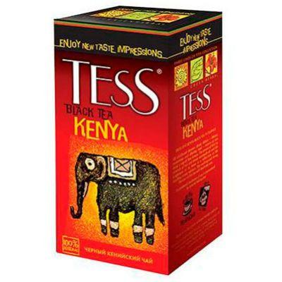 Чай TESS Кения (2гх100п) чай пак.черн.п/э ХРК 0985-10