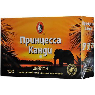 Чай Принцесса Канди Цейлон (2гх100п) чай пак.черн. 0300-16