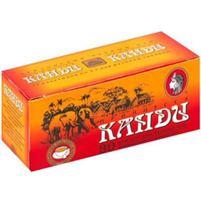 Чай Принцесса Канди (2грx30п) чай пак.б/я черн. 0302-80