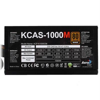 ���� ������� Aerocool 1000W Retail KCAS-1000M
