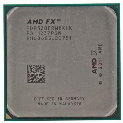 Процессор AMD FX-8320 OEM (FD8320FRW8KHK)