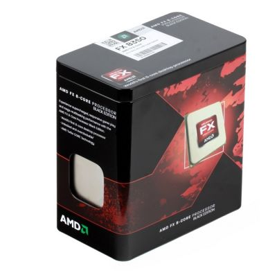 Процессор AMD FX-8350 4.0 GHz / 8core / 8+8Mb / 125W / 5200 MHz Socket AM3+ BOX FD8350FRHKBOX
