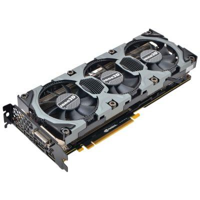 ���������� Inno3D 4Gb PCI-E GTX980 OC c CUDA GDDR5, 256 bit, HDCP, DVI, HDMI, 3*DP, Retail N98V-1SDN-M5DNX