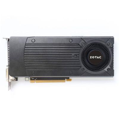 Видеокарта Zotac 4Gb PCI-E GTX970 Blower c CUDA, GDDR5, 256 bit, HDCP, 2*DVI, HDMI, DP, Retail ZT-90105-10P