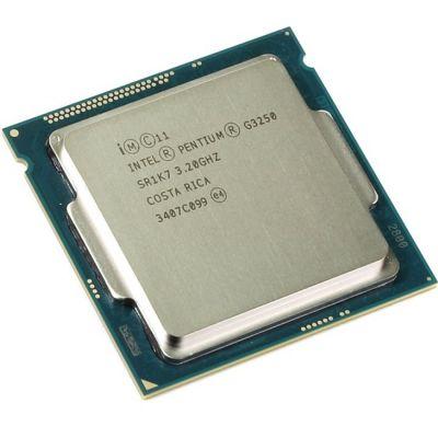 Процессор Intel Pentium G3250 3.2 GHz / 2core / SVGA HD Graphics / 0.5+3Mb / 53W / 5 GT / s LGA1150 OEM CM8064601482514SR1K7