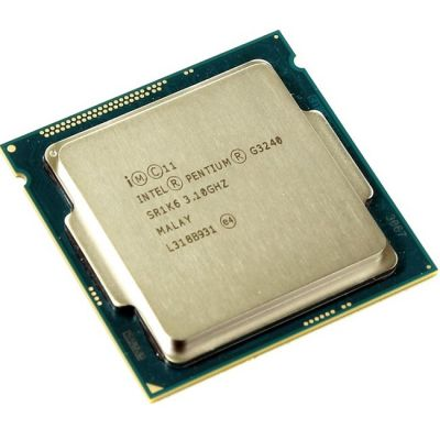 Процессор Intel Pentium G3240 3.1 GHz / 2core / SVGA HD Graphics / 0.5+3Mb / LGA1150 OEM CM8064601482507SR1K6