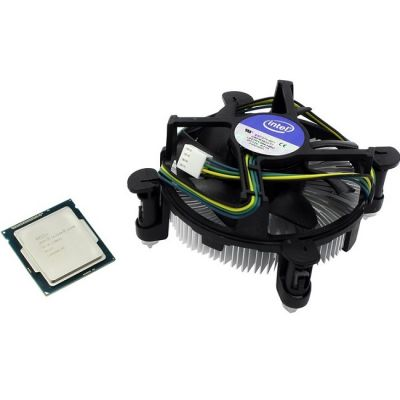 Процессор Intel Pentium G3440 3.3 GHz / 2core / SVGA HD Graphics / 0.5+3Mb / 53W / 5 GT / s LGA1150 BOX BX80646G3440SR1P9