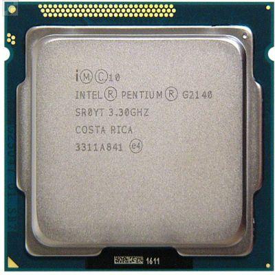Процессор Intel Pentium G2140 3.3 GHz / 2core / SVGA HD Graphics / 0.5+3Mb / 55W / 5 GT / s LGA1155 OEM CM8063701391100SR0YT