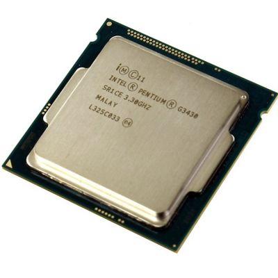 Процессор Intel Pentium G3430 3.3 GHz / 2core / SVGA HD Graphics / 0.5+3Mb / 54W / 5 GT / s LGA1150 OEM CM8064601482518SR1CE