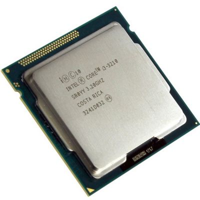 ��������� Intel Core i3-3210 3.2 GHz / SVGA / 0.5+3Mb / 5 GT / s LGA1155 CM8063701392300SR0YY