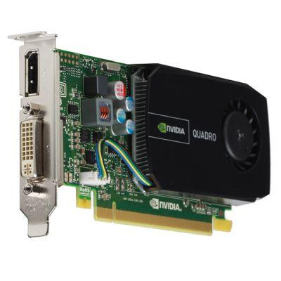 Видеокарта PNY 512Mb PCI-E nVidia Quadro 410 GDDR3, 64 bit, 2*DVI, DP, Low Profile, bulk VCQ410BLK-1