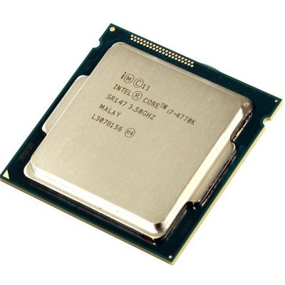 Процессор Intel Core i7-4770K 3.5 GHz / 4core / SVGA HD Graphics 4600 / 1+8Mb / 84W / 5 GT / s LGA1150 OEM CM8064601464206S R147 IN