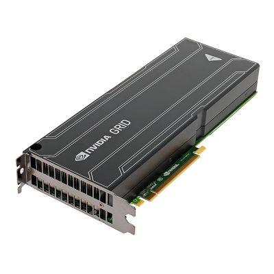 Видеокарта PNY 8Gb PCI-E nVidia GRID K2 GDDR5, R2L, 2*GK104, GPU computing card, 512 bit, Retail VCGRIDK2M-R2L-PB