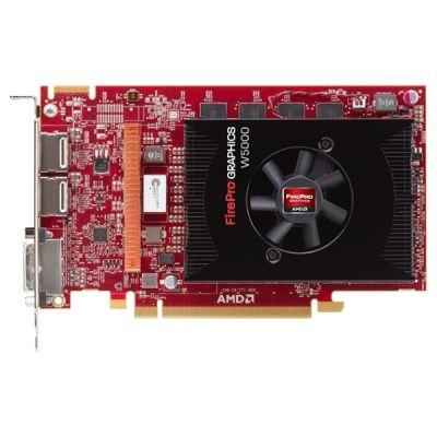 Видеокарта Sapphire 2Gb PCI-E FirePro W5000 GDDR5, 256 bit, DVI, 2*DP, Retail 31004-32-40A