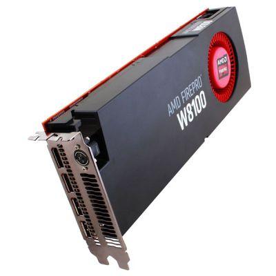 ���������� Sapphire 8Gb PCI-E FirePro W8100 GDDR5, 256 bit, 4*DP, Retail 31004-47-40A