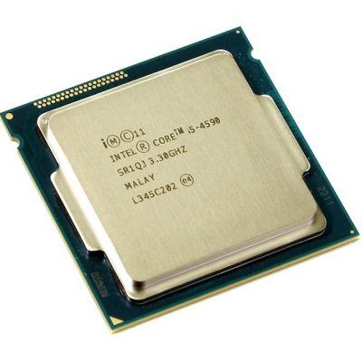 Процессор Intel Core i5-4590 3.3 GHz / 4core / SVGA HD Graphics 4600 / 1+6Mb / 84W / 5 GT / s LGA1150 OEM CM8064601560615SR1QJ