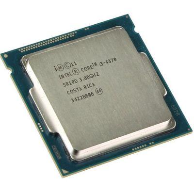 ��������� Intel Original Core i3 4370 Soc-1150 (3.8GHz/0.5Mb/Intel HD Graphics 4600) OEM CM8064601482462S R1PD