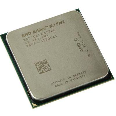 Процессор AMD Athlon II X2 370K Socket-FM2 (4.0/5000/1Mb) OEM AD370KOKA23HL