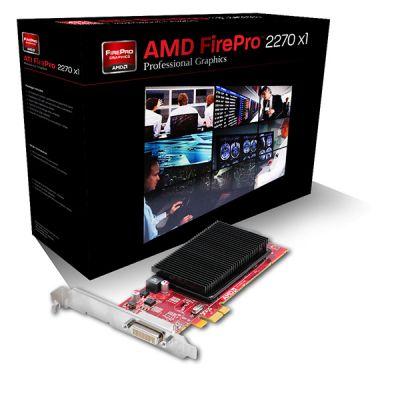 Видеокарта Sapphire 512Mb PCI-Ex1 FirePro 2270 GDDR3, 64bit,Retail 31004-18-40A