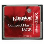 Карта памяти Kingston CF 16GB, Ultimate 266X CF/16GB-U2